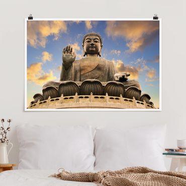 Poster - Großer Buddha - Querformat 2:3