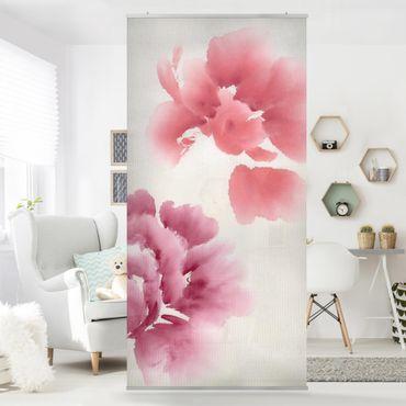 Raumteiler - Künstlerische Flora II 250x120cm