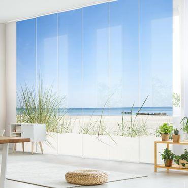 Schiebegardinen Set - Ostseeküste - Flächenvorhänge
