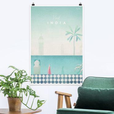 Poster - Reiseposter - Indien - Hochformat 3:2