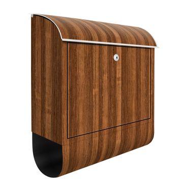 Briefkasten Holz - Amazakou - Holzoptik Wandbriefkasten