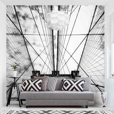 Fototapete - Brooklyn Bridge in Perspektive