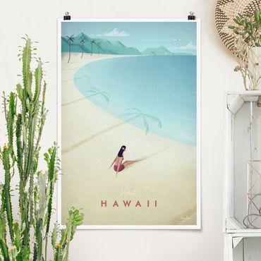 Poster - Reiseposter - Hawaii - Hochformat 3:2