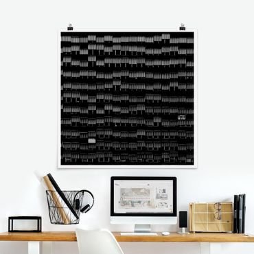 Poster - Way of Life - Quadrat 1:1
