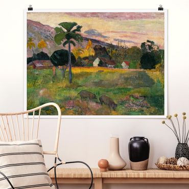 Poster - Paul Gauguin - Komm her - Querformat 3:4