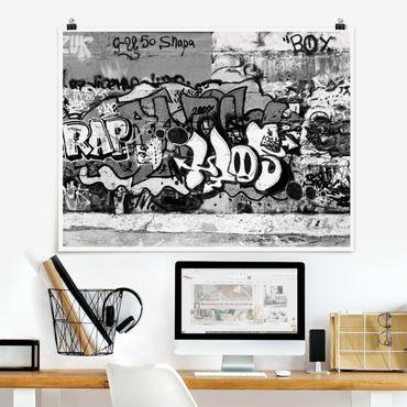 Poster - Graffiti Art - Querformat 3:4