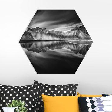 Hexagon Bild Forex - Vesturhorn in Island