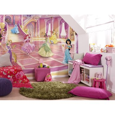 Disney Kindertapete - Princess Glitzerparty - Komar Fototapete