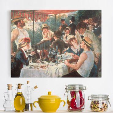 Leinwandbild - Auguste Renoir - Das Frühstück der Ruderer - Querformat 3:4