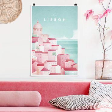 Poster - Reiseposter - Lissabon - Hochformat 3:2