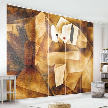 Schiebegardinen Set - Paul Klee - Paukenorgel - Flächenvorhänge