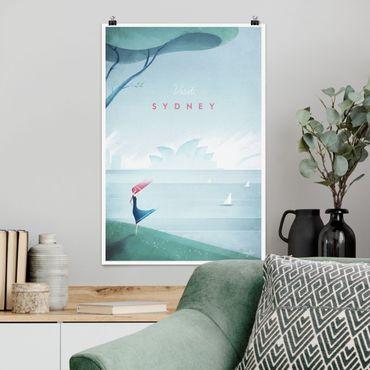 Poster - Reiseposter - Sidney - Hochformat 3:2