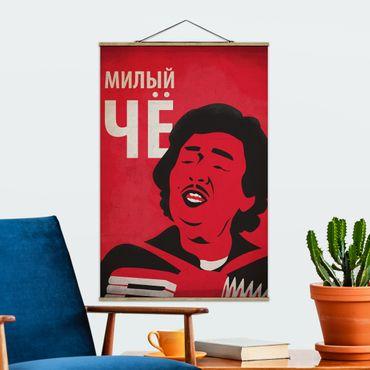 Stoffbild mit Posterleisten - Filmposter Afonia III - Hochformat 3:2