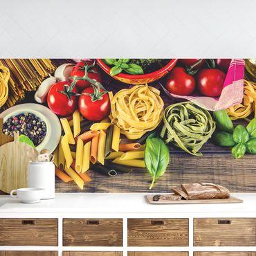 Küchenrückwand - Pasta