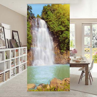 Raumteiler - Wasserfall Romantik 250x120cm