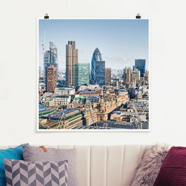 Poster - City of London - Quadrat 1:1