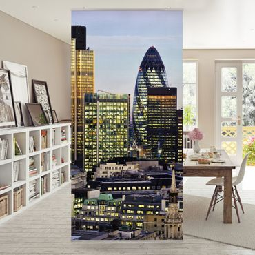 Raumteiler - London City 250x120cm