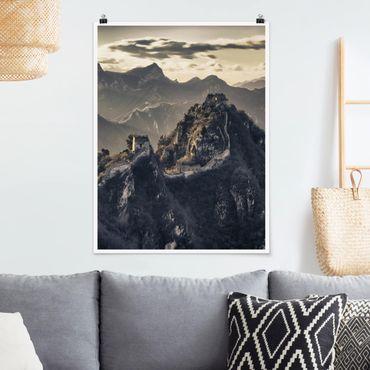 Poster - Die große chinesische Mauer - Hochformat 3:4
