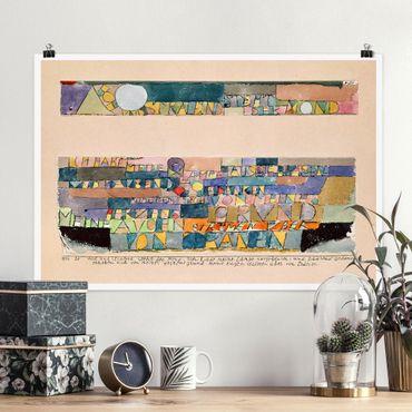 Poster - Paul Klee - Der Mond - Querformat 2:3