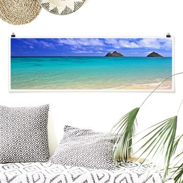 Poster - Paradise Beach - Panorama Querformat