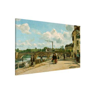 Magnettafel - Camille Pissarro - Ansicht von Pontoise - Memoboard Querformat 2:3