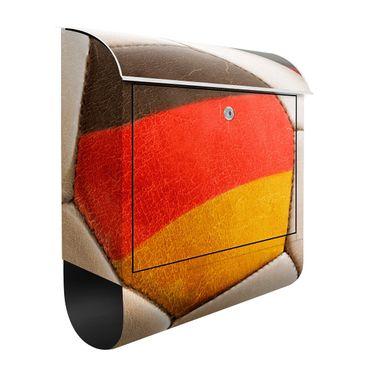 Design Briefkasten Vintage Fußball Deutschland 39x46x13cm
