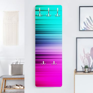 Design Garderobe - Rainbow Display - Blau