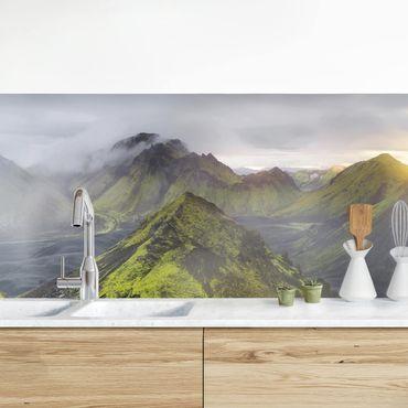 Küchenrückwand - Storkonufell Island
