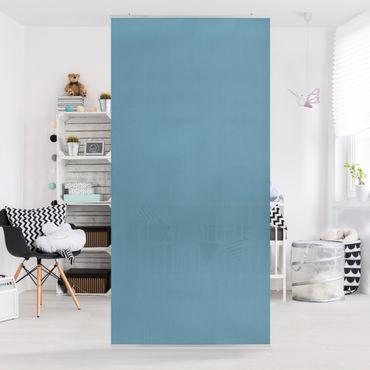 Raumteiler - Meerblau 250x120cm