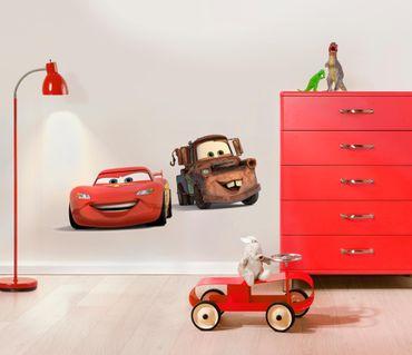 Disney Cars Wandtattoo - Freunde - Lightning McQueen & Hook - Komar Deco-Sticker