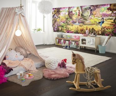 Disney Fairies - Feenwald - Komar Fototapete