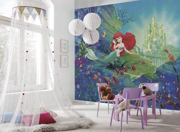 Disney Kindertapete - Arielle´s Schloss - Komar Fototapete