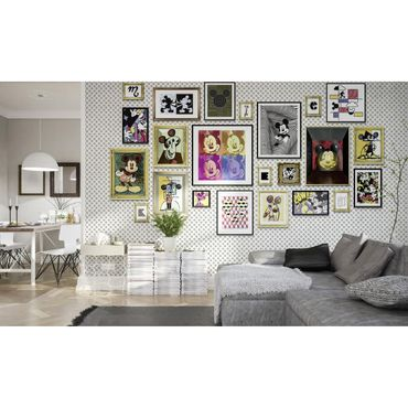 Disney Kindertapete - Mickey Art Collection - Komar Fototapete