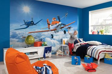 Disney Planes - Über den Wolken - Komar Fototapete