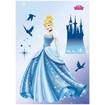 Disney Prinzessinnen Wandtattoo - Traum - Komar Deco-Sticker