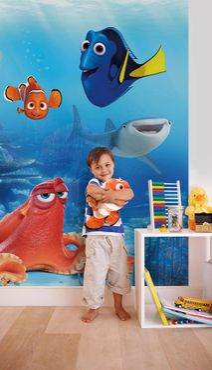 Disney's Findet Dorie - Dorie und Freunde - Komar Fototapete