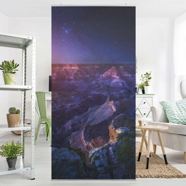 Raumteiler - Grand Canyon Night 250x120cm