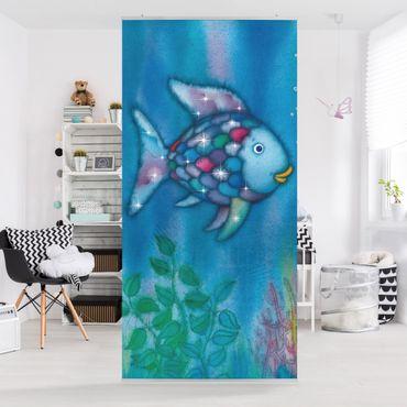 Raumteiler Kinderzimmer - Der Regenbogenfisch - Allein im weiten Meer 250x120cm