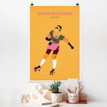 Poster - Filmposter Gib dem Affen Zucker - Hochformat 3:2