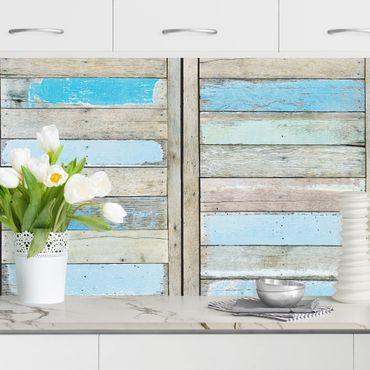 Küchenrückwand - Shelves of the Sea