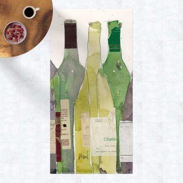 Vinyl-Teppich - Wein & Spirituosen III - Hochformat 1:2