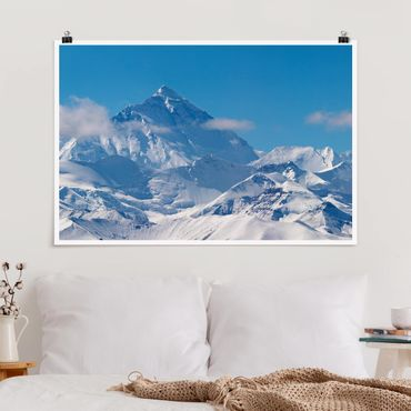 Poster - Mount Everest - Querformat 2:3