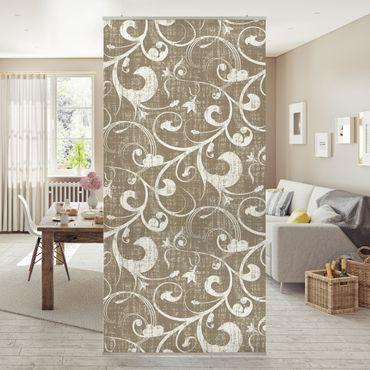 Raumteiler - Ornamentstruktur 250x120cm