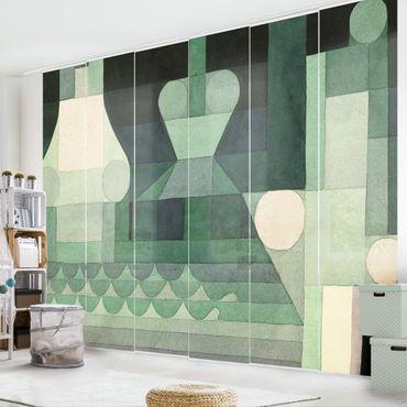 Schiebegardinen Set - Paul Klee - Schleusen - Flächenvorhänge