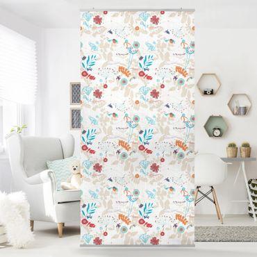 Raumteiler Kinderzimmer - Coastal Life 250x120cm