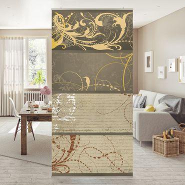 Raumteiler - Grunge Banner Assortment 250x120cm