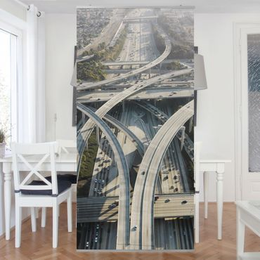 Raumteiler - Rush Hour 250x120cm