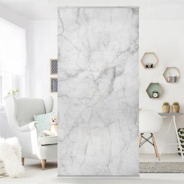 Raumteiler - Bianco Carrara 250x120cm