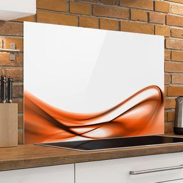Spritzschutz Glas - Orange Touch - Querformat - 3:2