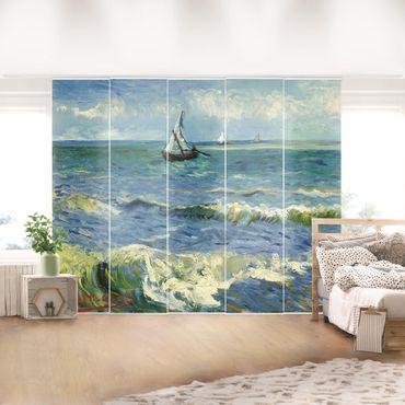 Schiebegardinen Set - Vincent van Gogh - Seelandschaft in der Nähe von Les Saintes-Maries-de-la-Mer - Flächenvorhänge